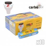 CHARBON CARBOPOL CROWN AIR HEAT 40MM Boîte