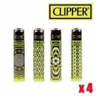CLIPPER LEAF PATTERNS X4
