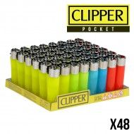 CLIPPER POCKET COLOR TRANSPARENT X48
