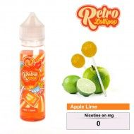 E-LIQUIDE RETRO LOLLIPOP APPLE LIME