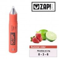E-LIQUIDE ZAP JUICE SUMMER CIDER 10ML