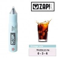 E-LIQUIDE ZAP JUICE VINTAGE COLA 10ML