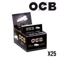 FILTRE CARTON OCB X25