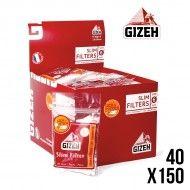 FILTRES GIZEH EN ACETATE 6MM X40
