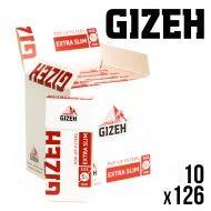 FILTRES GIZEH EXTRA SLIM EN STICK X10