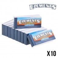 FILTRES CARTON ELEMENTS LARGE PERFORES X10