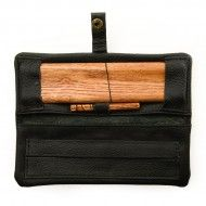 KAVATZA Mini pouch cuir black