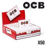 OCB N°4 BLANC PETIT FORMAT x50
