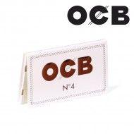 OCB N°4 BLANC DOUBLE PETIT FORMAT
