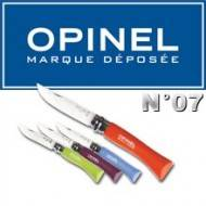 COUTEAU OPINEL N°7 COLORE