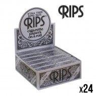 RIPS ROLL BLACK XTRA THIN X24 KING SIZE
