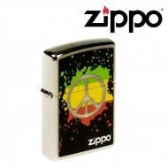 ZIPPO PEACE SPLASH