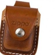 .ZIPPO POUCH LOOP BROWN