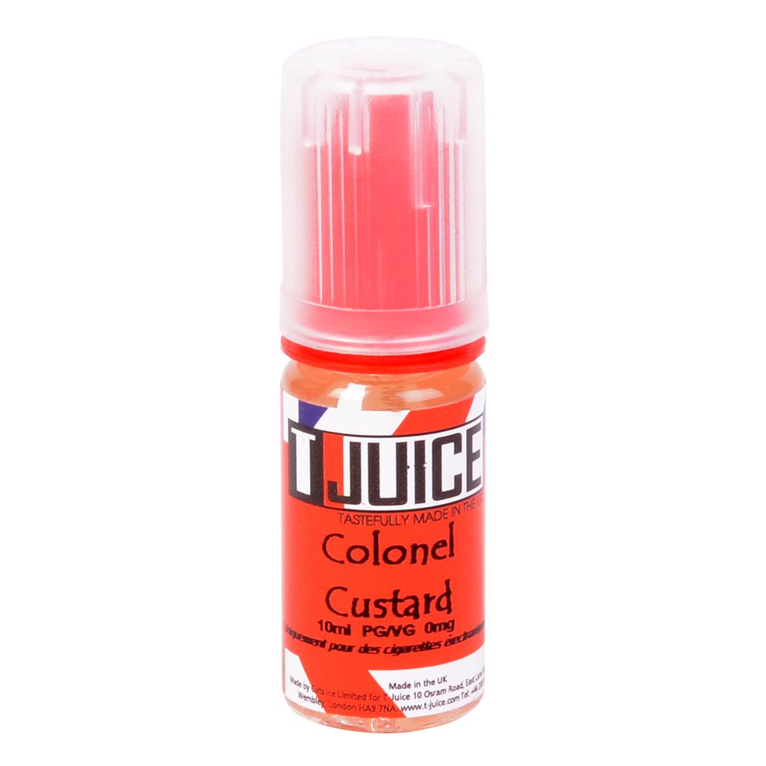 E-LIQUIDE T-JUICE COLONEL CUSTARD 10ML