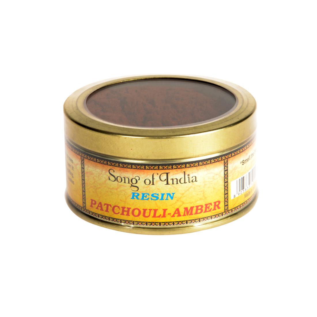 encens en poudre patchouli ambre