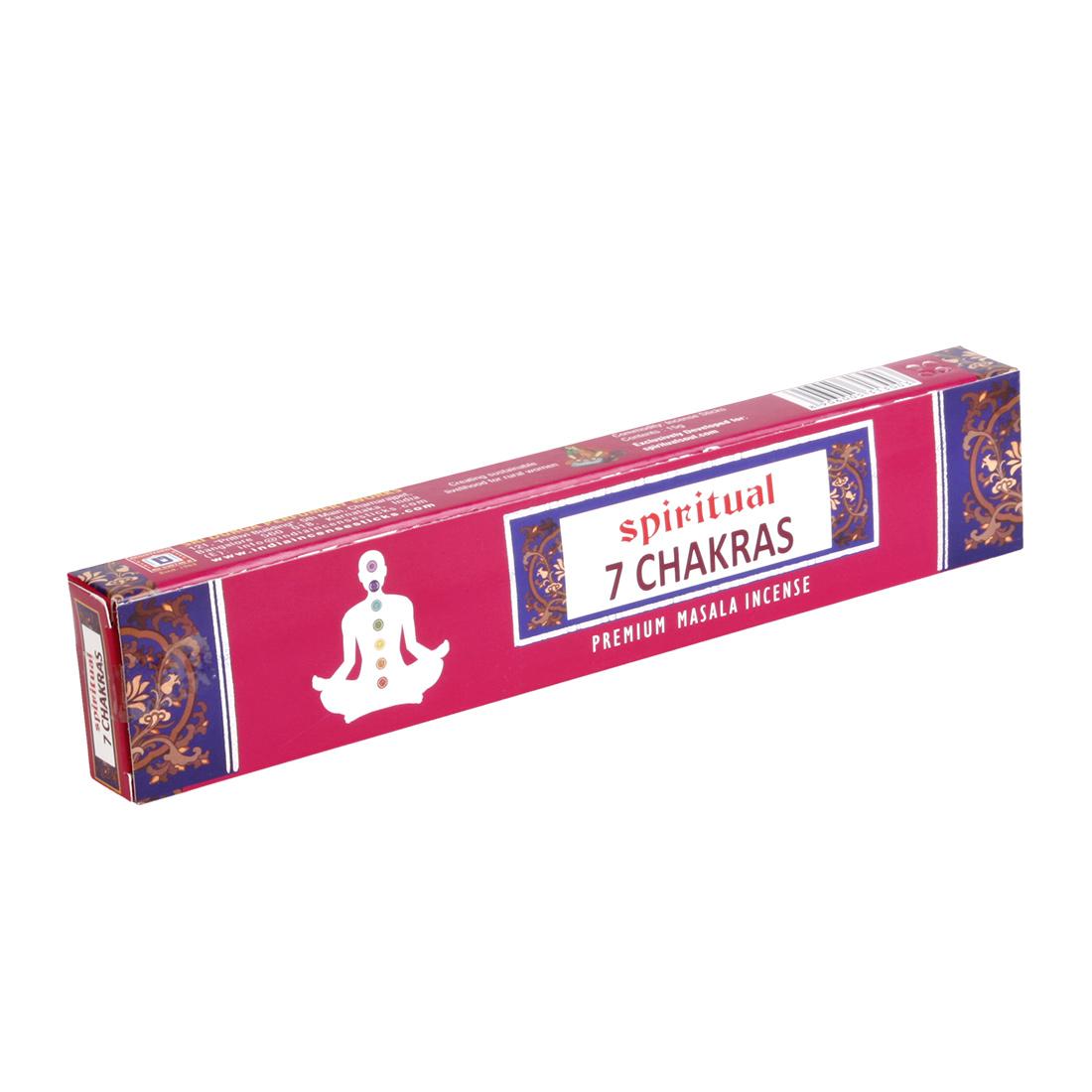 encens spiritual 7 chakras