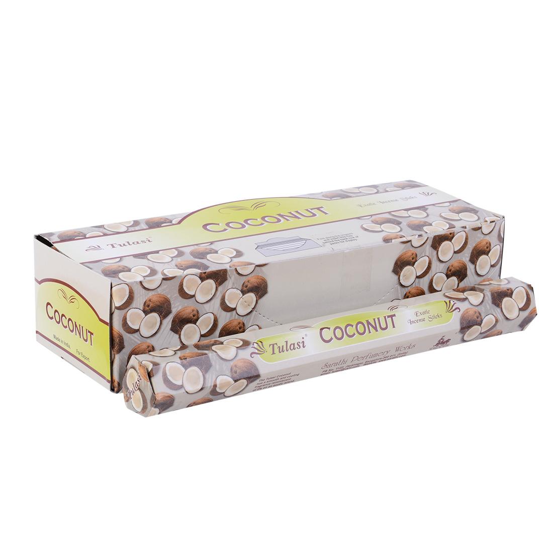 encens tulasi noix de coco