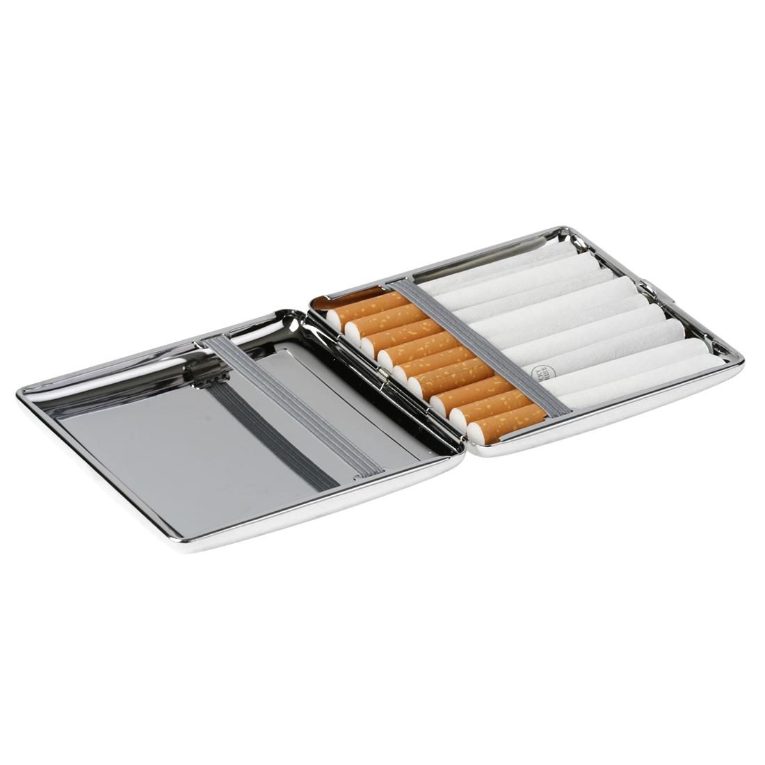 étui plat à cigarettes grill