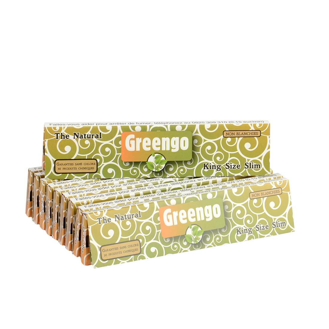 carnets de feuilles greengo