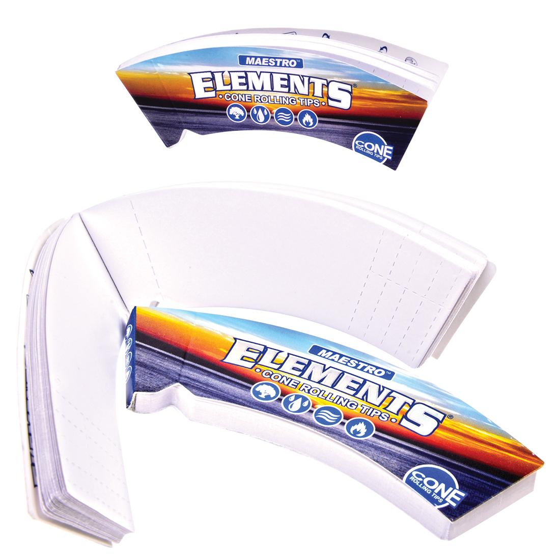 carnet de filtres à cones Element