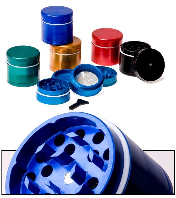 Achat de grinder polinator 4 parties color