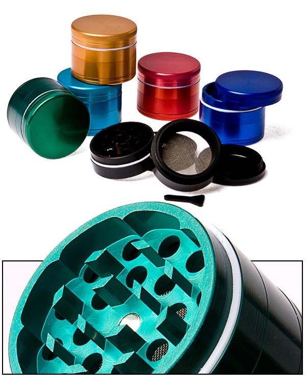 Grinder polinator color 50 mm