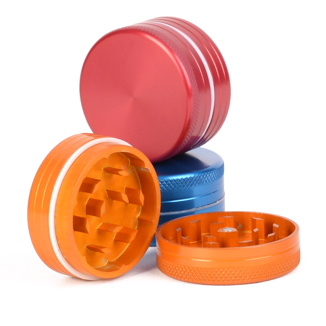 Grinder color 40 mm 2 parties