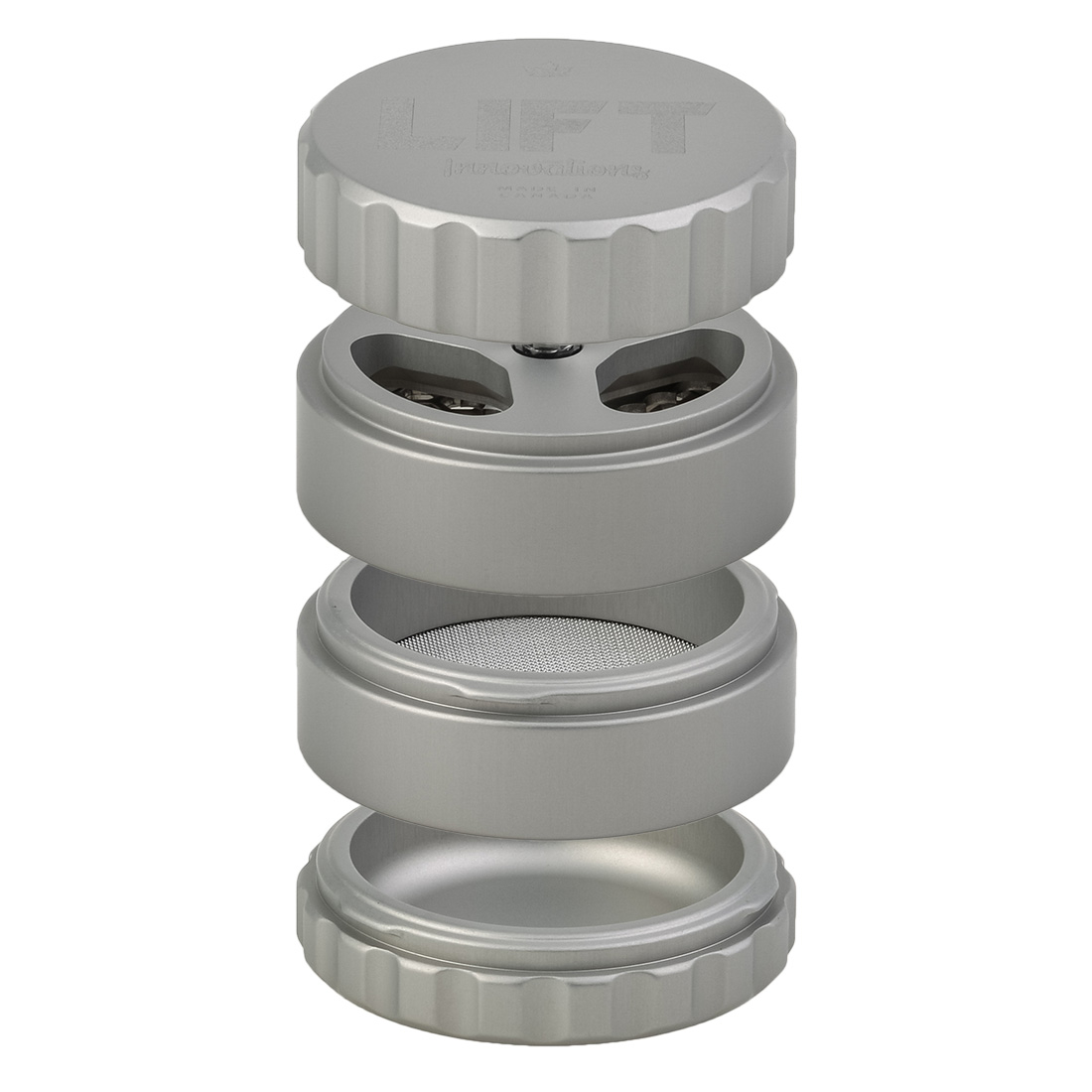 GRINDER LIFT INNOVATIONS 4 PARTIES 63MM GRIS