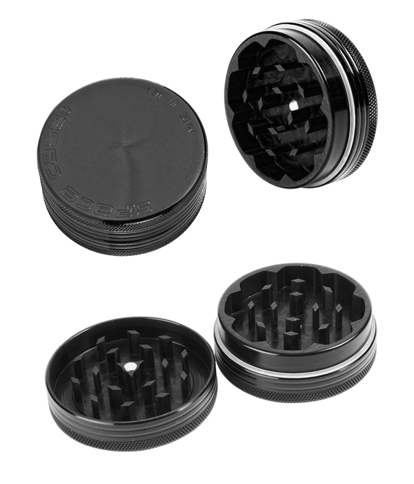 grinder Space Case Polinator Titanium 50mm