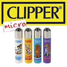 MICRO CLIPPER DOGS X4