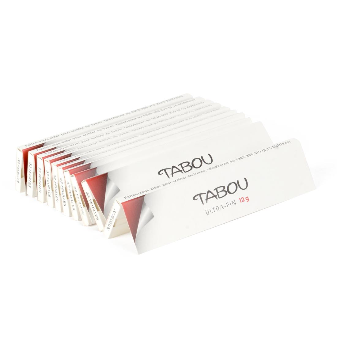 carnets de feuilles tabou