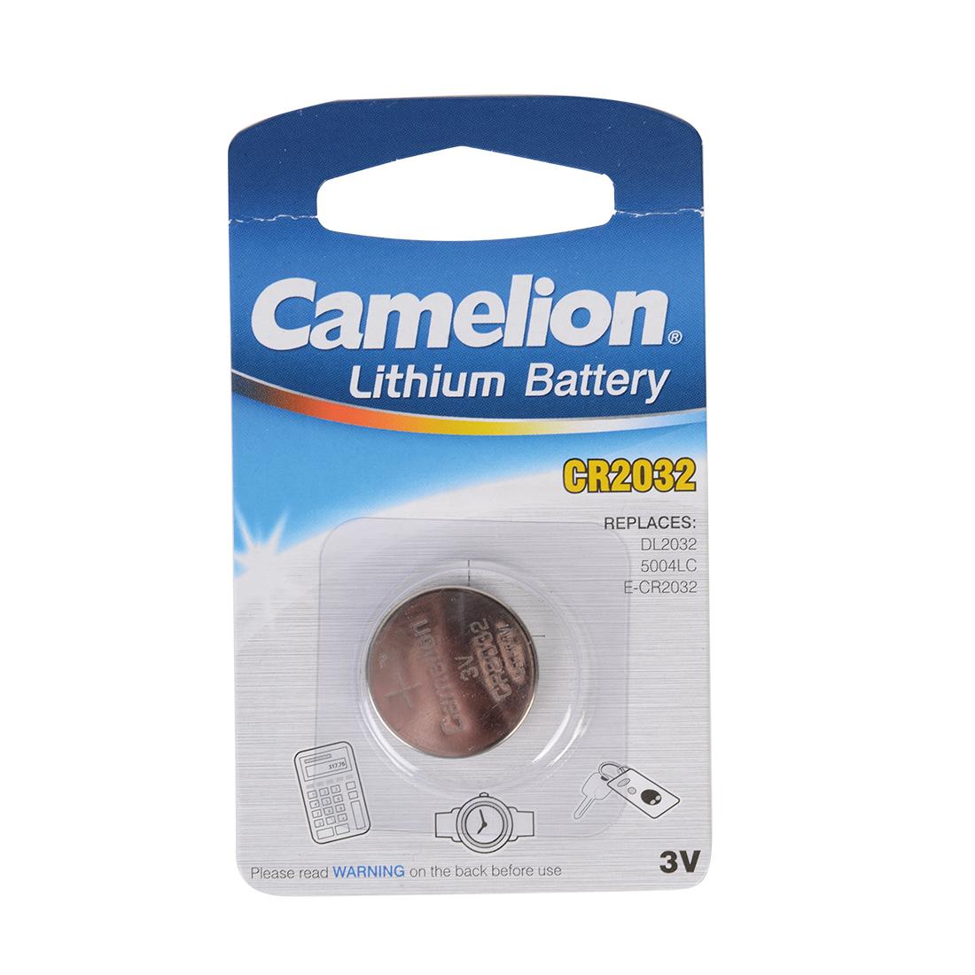 pile bouton cr2032 camelion