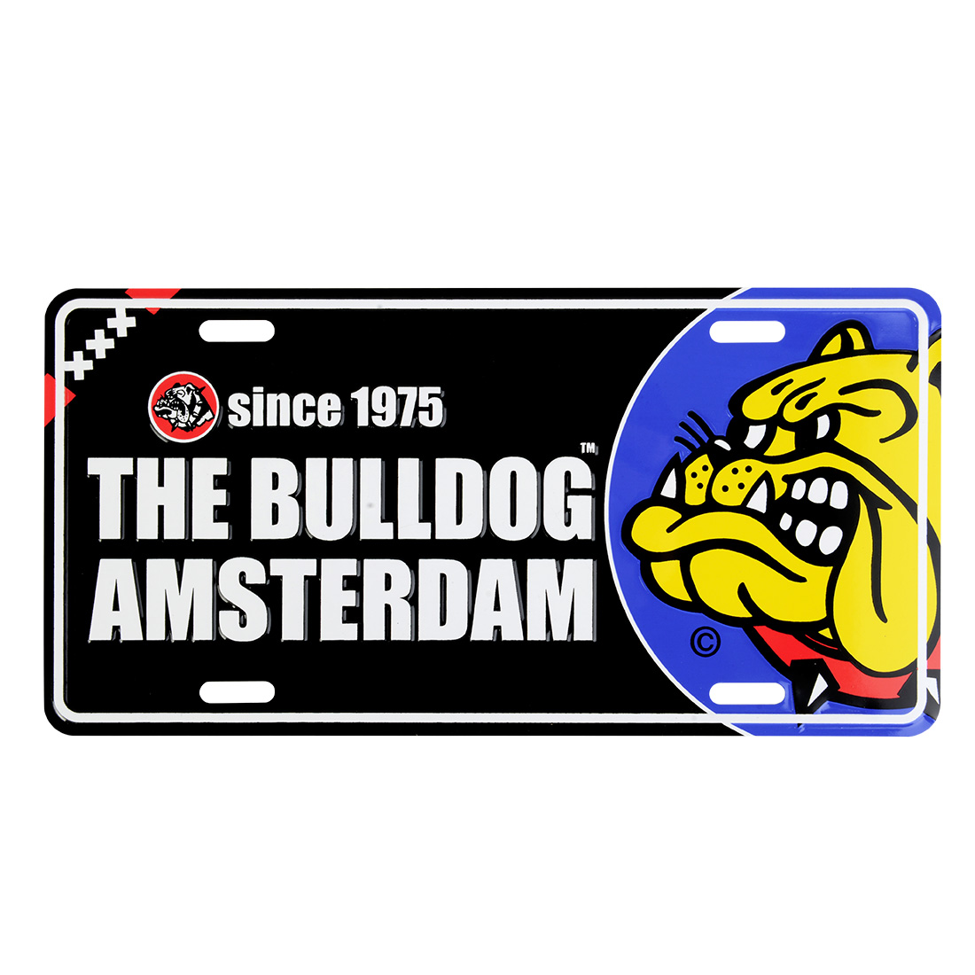 plaque the bulldog