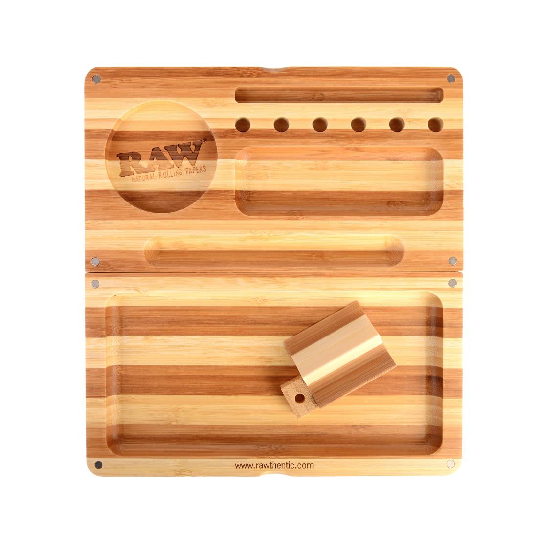 plateau en bois raw