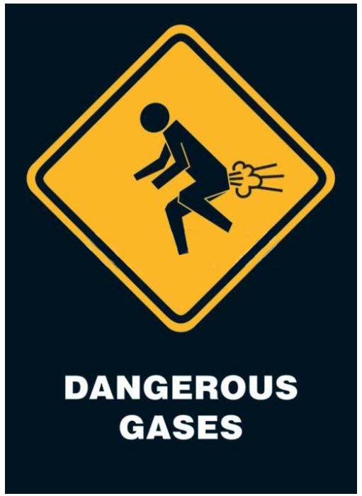 Poster Dangerous gases