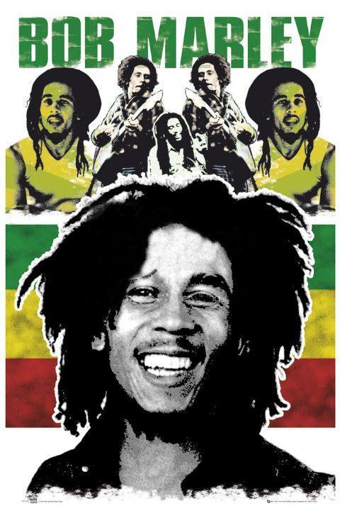 poster Bob Marley Smile