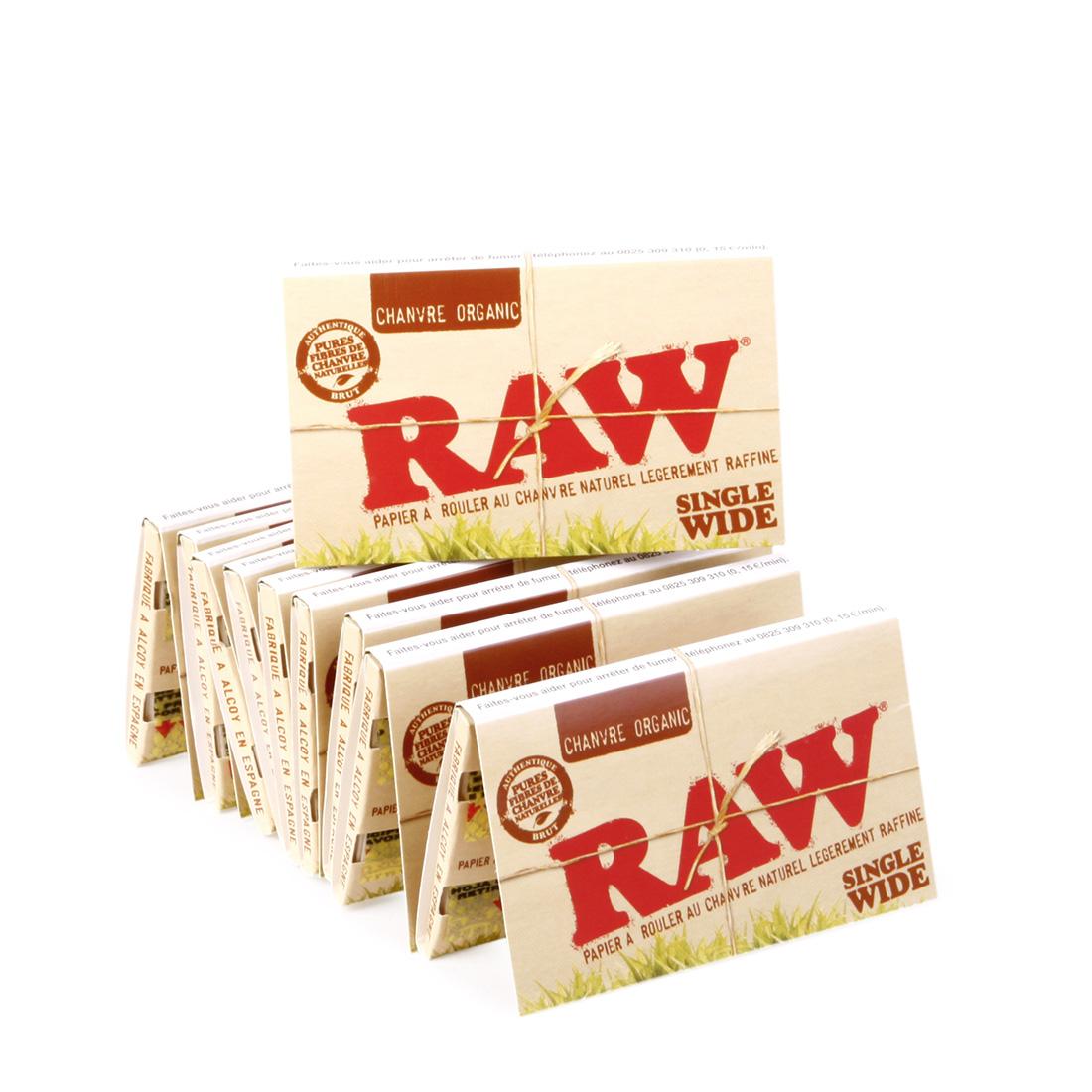 feuilles raw organic