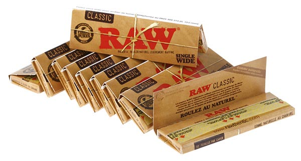 acheter feuilles raw