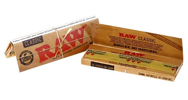 feuilles raw