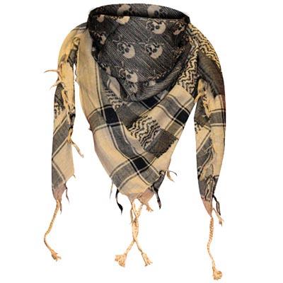 keffieh foulard tete de mort foulards orientaux keffieh foulard. Black Bedroom Furniture Sets. Home Design Ideas