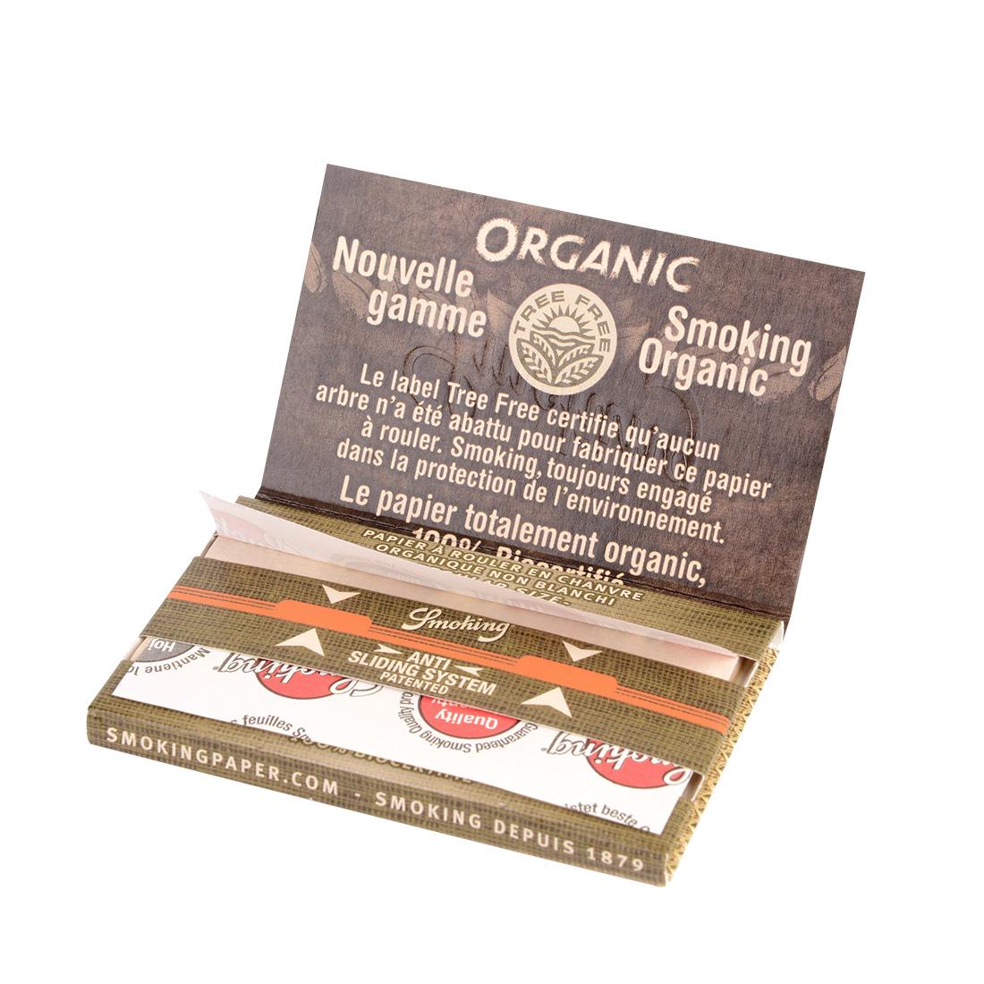 smoking organic