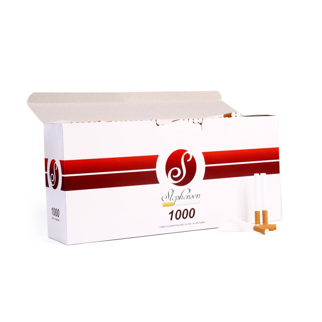 tubes à cigarettes pas cher