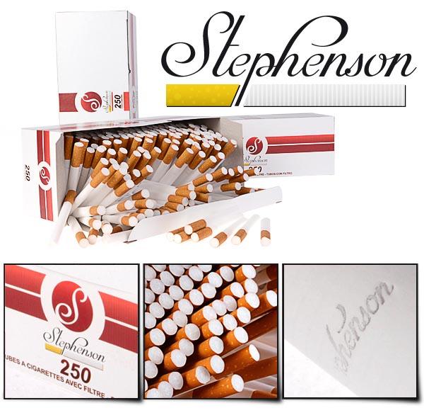 tubes à cigarettes stephenson 250