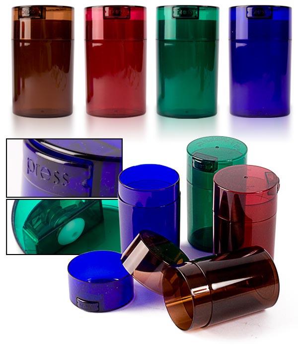 Boite transparente tight vac color