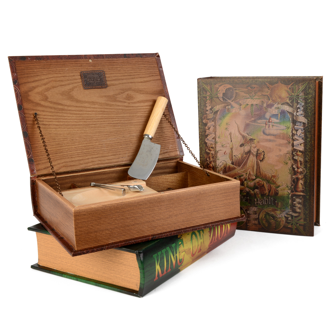 boite grimoire livre rangement acheter boites en bois. Black Bedroom Furniture Sets. Home Design Ideas