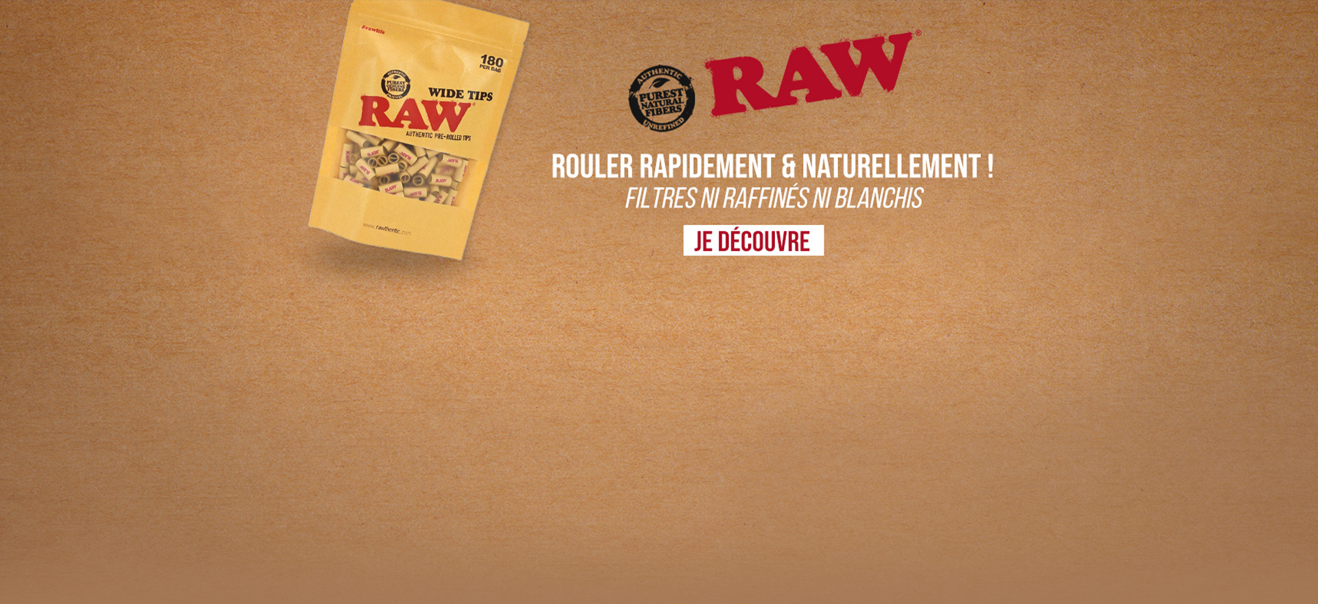 FILTRES RAW PRE-ROULES WIDE