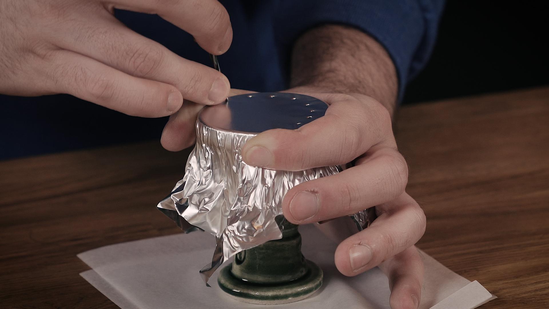 trou aluminium chicha