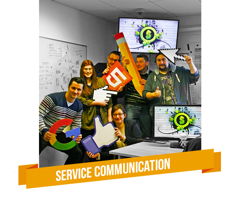 Service communication Informatique