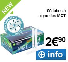 Tubes à cigarettes MCT