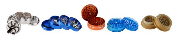 Différents types de grinder